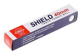 Набор мячей для настольного тенниса Shield 40 мм, 6 шт (6901295020039)