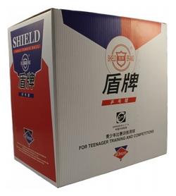 Набор мячей для настольного тенниса Shield 40 мм, 144 шт (6901295020138)