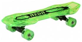 Скейтборд Neon Cruzer N100792, зеленый