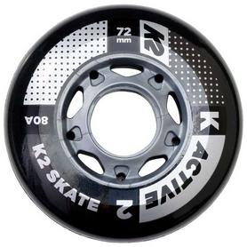 Колеса для роликов K2 Active Wheel 4-Pack 2018, 72 мм (30B3000.1.1)