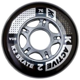 Колеса для роликов K2 Active Wheel 8-Pack ILQ 5 2018, 76 мм (30B3008.1.1)