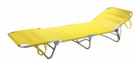 Шезлонг Time Eco ТЕ-017АТК, желтый (5268548552473)