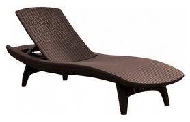 Шезлонг Allibert Pacific, коричневий (7290103660819)