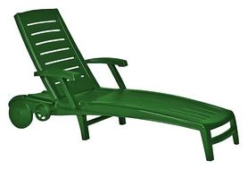 Шезлонг Allibert Sparta, зеленый (8711245130729)