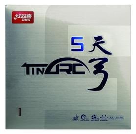 Накладка на теннисную ракетку DHS Tinarc 5 Mid - черная, 2,1 мм (6901295078283)