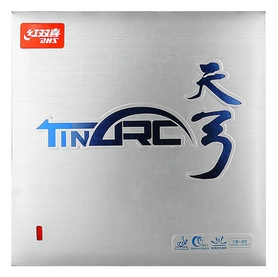 Накладка на теннисную ракетку DHS Tinarc Mid - красная, 2,1 мм (6901295078962)