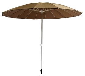 Зонт садовый Time Eco ТЕ-006-240, коричневый (4001831143153)