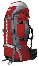 Рюкзак туристический Terra Incognita Vertex 80 - красный
