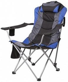 """Кресло складное Time Eco """"Директор"""", серо-голубой (4820183480545)"""
