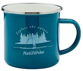 Кружка походная Naturehike Mountains fun NH17M001-B зеленая, 0,35 л
