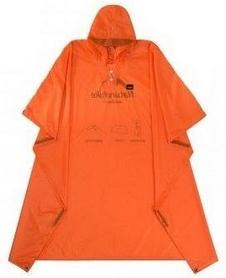 Пончо-тент Naturehike 20D NH17D003-M, оранжевый
