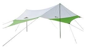 Тент кемпинговый Naturehike 210T Polyester NH16T013-S, зеленый (6927595787755)