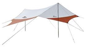 Тент кемпинговый Naturehike 210T Polyester NH16T012-S, оранжевый (6927595787786)