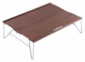 Распродажа*! Столик походный Naturehike NH17Z001-L Compact Table - коричневый, 34х25 см (6927595720639)