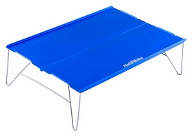 Столик походный Naturehike NH17Z001-L Compact Table - синий, 34х25 см (6927595720646)
