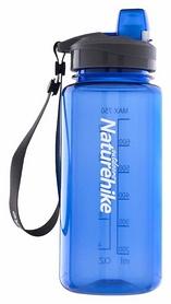 Бутылка для воды спортивная Naturehike NH17S010-B Sport bottle Tritan - синяя, 0,75 л (6927595722527)