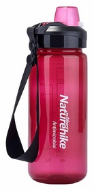 Бутылка для воды спортивная Naturehike NH61A060-B Sport bottle - фиолетовая, 0,5 л (6927595721131)