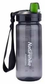Бутылка для воды спортивная Naturehike NH61A060-B Sport bottle - серая, 0,5 л (6927595721124)