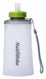 Бутылка для воды спортивная Naturehike NH61A065-B Soft bottle - белая, 0,75 л (6927595721186)