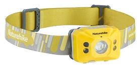 Распродажа*! Фонарь налобный Naturehike NH17G025-D NH SD-02 Rechargable lamp - желтый, 1200mAh (6927595723166)