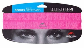 Повязка на голову Naturehike Outdoor Sport Sweatband NH17Z020-D, розовая