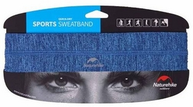 Повязка на голову Naturehike Outdoor Sport Sweatband NH17Z020-D, голубая