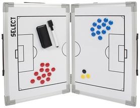 Тактическая доска раскладная Select Tactics Board Foldable, белая (5703543054275)