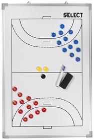 Тактическая доска Select Tactics Board Alu – Handball, белая (5703543720170)