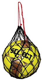 Сетка для мячей Select Ball Net 1 Ball, черная (5703543730018)