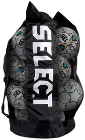 Сетка для мячей Select Football Bag, черная (5703543730056)