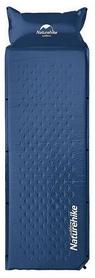 Коврик самонадувающийся Naturehike Mat with Pillow NH15Q002-D - темно-синий, 25 мм (6927595705117)