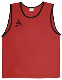 Накидка (манишка) тренировочная Select Bibs Super, красная (683330-012)