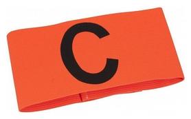 Повязка капитанская на липучке Select Captains Band Velcro, оранжевая (5703543691265)