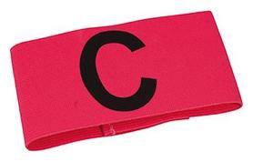 Повязка капитанская на липучке Select Captains Band Velcro, розовая (5703543691241)