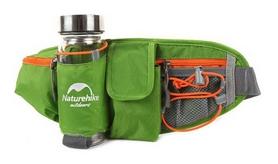 Сумка на пояс Naturehike Phone&bottle NH15E001-B - зеленая, 5 л (6927595708224)