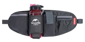 Сумка на пояс Naturehike Phone&bottle NH17E001-B - серая, 5 л (6927595721513)
