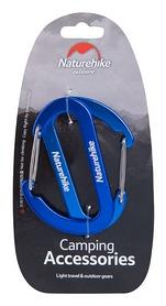 Карабин многофункциональный Naturehike 2 Pack NH15A002-H - синий, 65 мм (6927595717103)