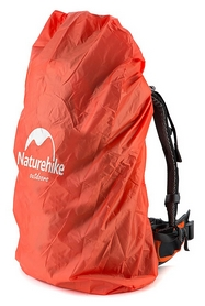 Накидка на рюкзак (чехол) Naturehike NH15Y001-Z-S - оранжевая, 20-30 л (6927595707609)