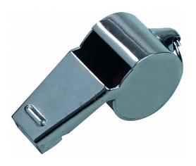 Свисток арбитра металлический Select Referee Whistle, металлик (5703543770045)