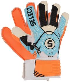 Перчатки вратарские детские Select Goalkeeper Gloves 88 Kids, голубые (602880-317)