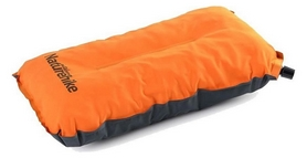 Подушка надувная Naturehike Sponge Аutomatic Inflatable Pillow NH17A001-L, оранжевая (6927595717790)