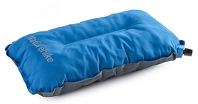 Подушка надувная Naturehike Sponge Аutomatic Inflatable Pillow NH17A001-L, синяя (6927595717844)