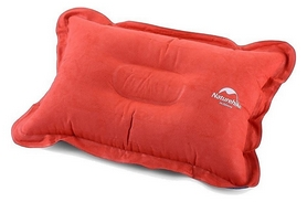 Подушка надувная Naturehike Comfortable Pillow NH15A001-L, оранжевая (6927595718216)