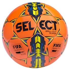 Мяч футбольный Select Brillant Super Fifa New № 5, оранжевый (5703543094721)