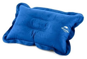 Подушка надувная Naturehike Comfortable Pillow NH15A001-L, синяя (6927595718223)