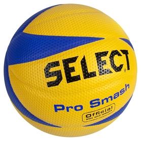 Мяч волейбольный Select Pro Smash Volley New, желтый (5703543040292)