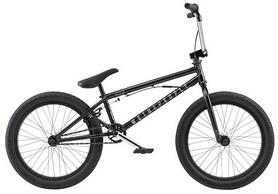 """Велосипед BMX WeThePeople Versus 2018 - 20.65"""", черный"""