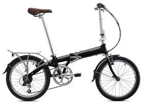 """Велосипед складной Bickerton Junction 1307 Country 2018 - 20"""", черный"""