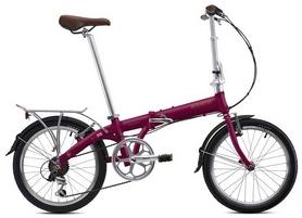 """Велосипед складной Bickerton Junction 1307 Country 2018 - 20"""", фиолетовый"""