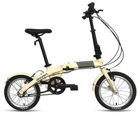 """Велосипед складной Outleap Bern 2017 - 16"""", коричневый"""